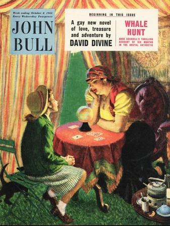 John Bull, Visions of the Future, Fortune Tellers Magazine, UK, 1950