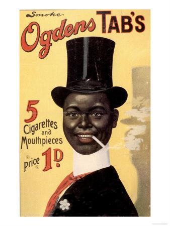 Cigarettes Smoking Ogden's, UK, 1900