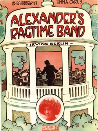 Sheet Music Jazz Irvin Berlin Alexanders Ragtime Band, USA, 1920