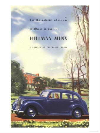Hillman, Hillman Minx Rootes Motors Limited, UK, 1940