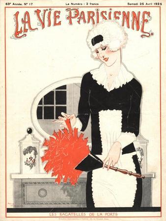 La Vie Parisienne, Erotica Glamour Art Deco Cleaning Products Magazine, France, 1925