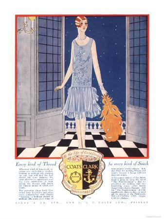 Fabrics, Threads, Womens Art Deco, UK, 1920