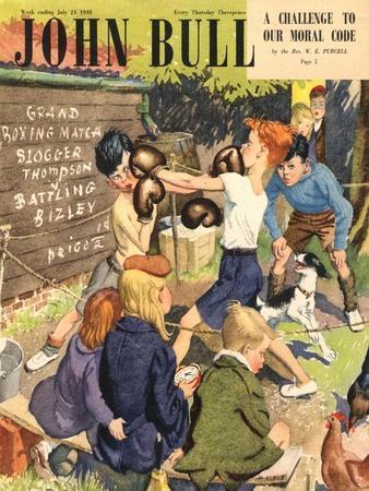 John Bull, Children Boxing Magazine, UK, 1948