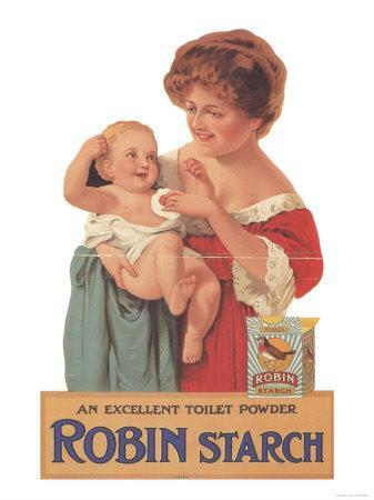 Robin Starch, Edwardian Products, Detergent, Baby, UK, 1911