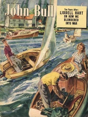 John Bull, Sailing Boats Magazine, UK, 1949