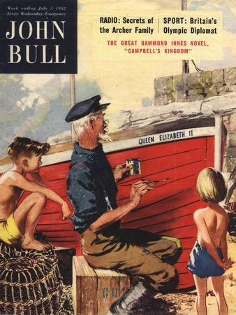 John Bull, Nautical Fishing Boats Magazine, UK, 1950