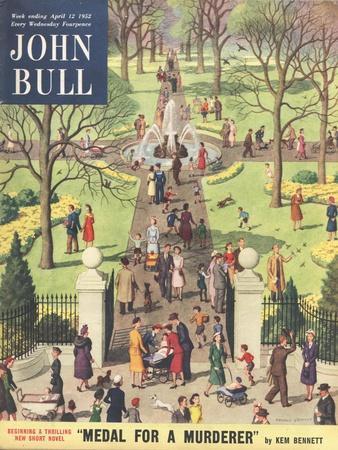 John Bull, Parks Magazine, UK, 1952