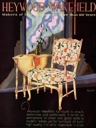 Heywood Wakefield, Furniture Interiors, USA, 1920