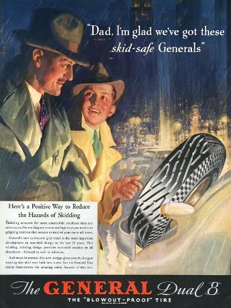The General, Tires, USA, 1930