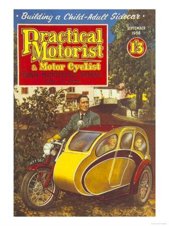 Practical Motorist and Motor Cyclist, Motorbikes Magazine, UK, 1956