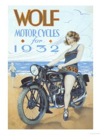Wolf, Motorbikes, UK, 1939