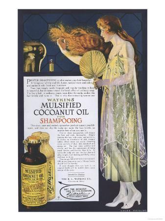Watkins, Shampoo, USA, 1918