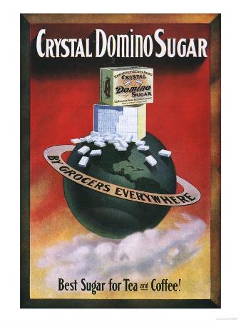 Crystal Domino Sugar, Tea Coffee, USA, 1910