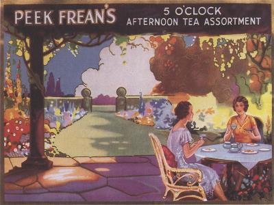 Peek Freans Biscuits, UK, 1910