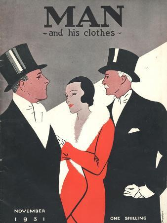 Man and his clothes, Mens Magazine, UK, 1931