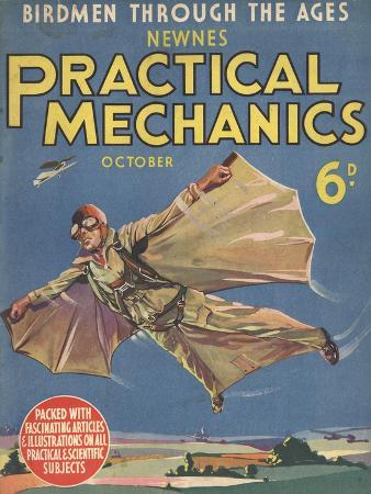 The Practical Mechanics, Bird Man, Visions of the Future, UK, 1930