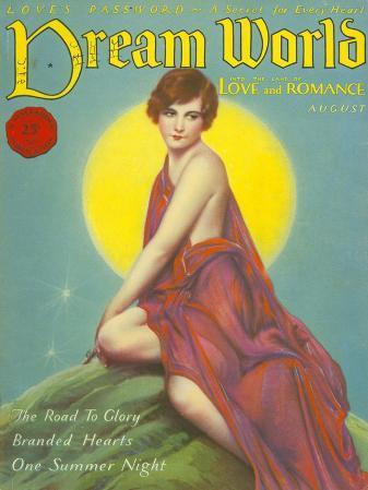 Dream World, Womens Moon Magazine, USA, 1928