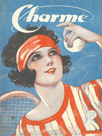 Charm, Tennis Magazine, USA, 1924