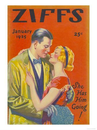 Ziffs, Kissing Magazine, USA, 1925
