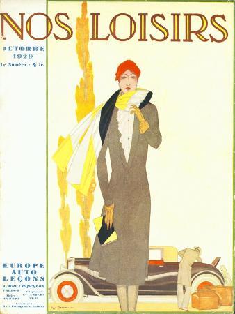 Nos Loisirs, Womens Magazine, France, 1929