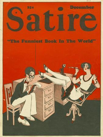 Satire, Secretaries Magazine, USA, 1927