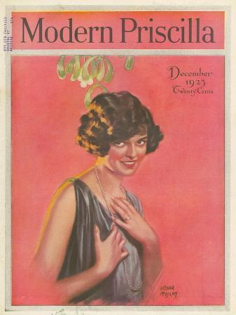 Modern Priscilla, Mistletoe Womens Portraits Magazine, USA, 1923