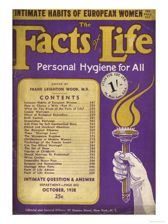 The Facts of Life, USA, 1930