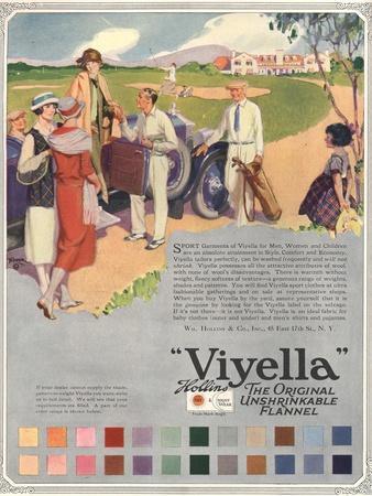 Viyella, Womens Fabrics, UK, 1920