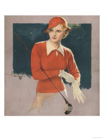 Golf Womens, USA, 1930