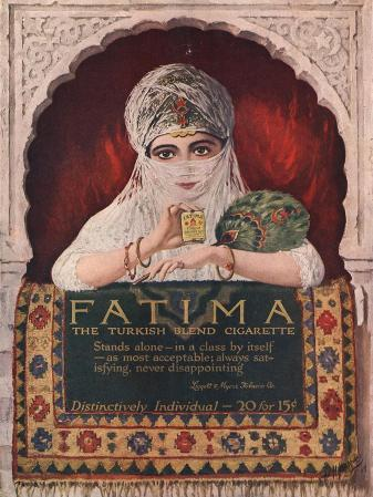 Fatima, Turkish, USA, 1914