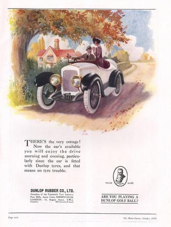 Dunlop, Tires, UK, 1919