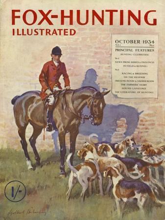 Fox-Hunting Illustrated, Fox Hunting Cruel Sports Magazine, UK, 1934