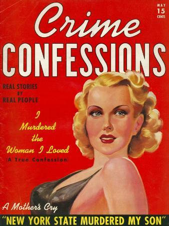 Crime Confessions, Pulp Fiction Magazine, USA, 1931