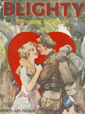 Blighty, First Issue WWI Uniforms Magazine, UK, 1918