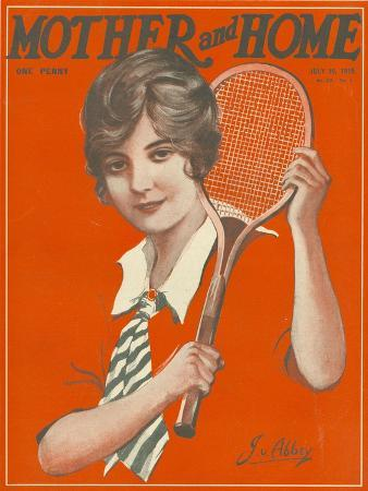 Mother and Home, Tennis Magazine, UK, 1915