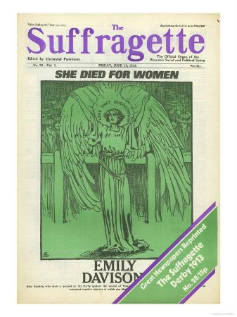 The Suffragettes, Suffragettes Womens Rights Votes For Women Magazine, UK, 1913