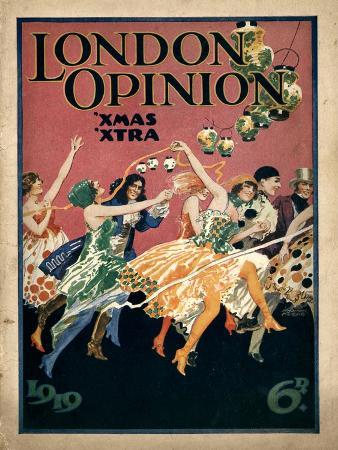 London Opinion, First Issue Magazine, UK, 1919