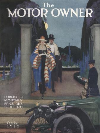 The Motor Owner, Evening Dress Magazine, UK, 1919