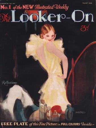 The Looker-on, First Issue Portraits Make-Up Magazine, UK, 1929