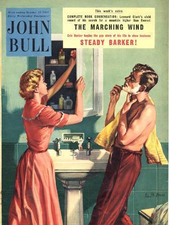 John Bull, Couples Bathrooms Magazine, UK, 1955