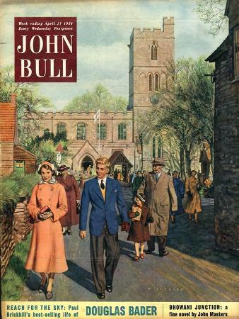John Bull, Churches Village Magazine, UK, 1954