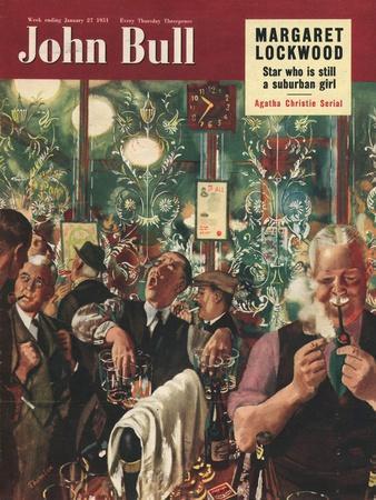 John Bull, Pub Closing Time Magazine, UK, 1951