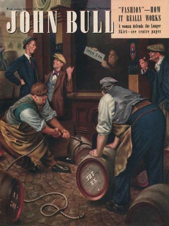 John Bull, Alcoholic Magazine, UK, 1947