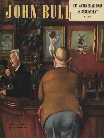 John Bull, Drinking Magazine, UK, 1948