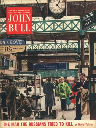 John Bull, Railways Stations Magazine, UK, 1954