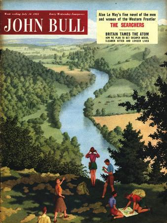 John Bull, Outdoors Rivers Countryside Ramblers Hiking Magazine, UK, 1955