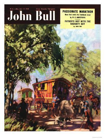 John Bull, Gypsies Caravans Magazine, UK, 1950