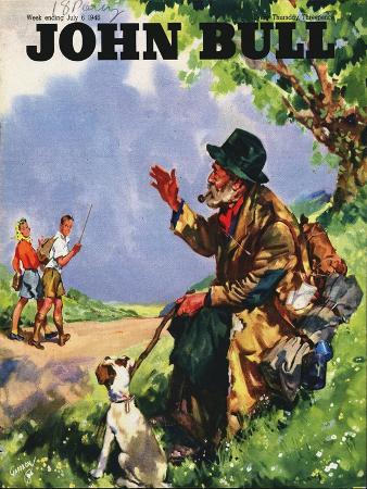 John Bull, Tramps Countryside Magazine, UK, 1946