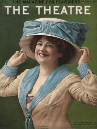 The Theatre, Hats Portraits Womens Magazine, USA, 1910