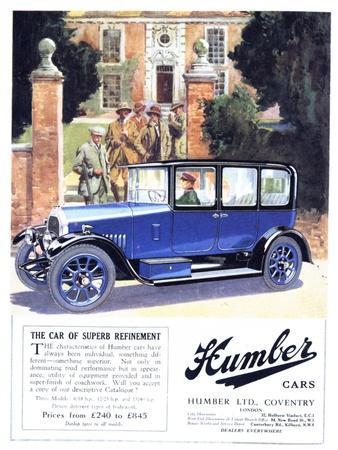 Humber, Cars, UK, 1920